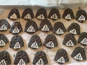 darth vader cookies